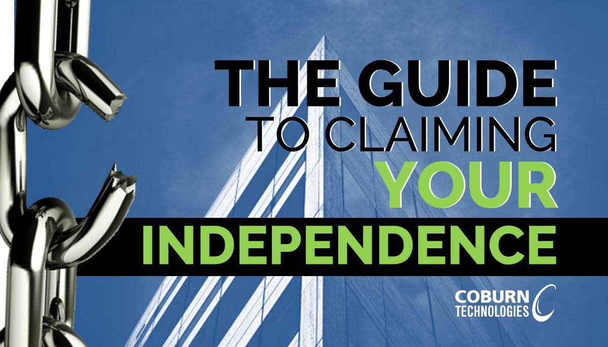 Coburn's Guide to Claiming Your Independence: Finish Lenses In-House.