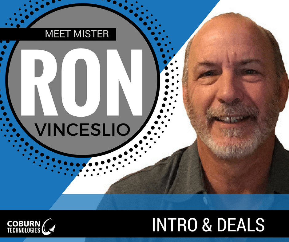 Ron Vinceslio | Coburn Technologies Sales Rep