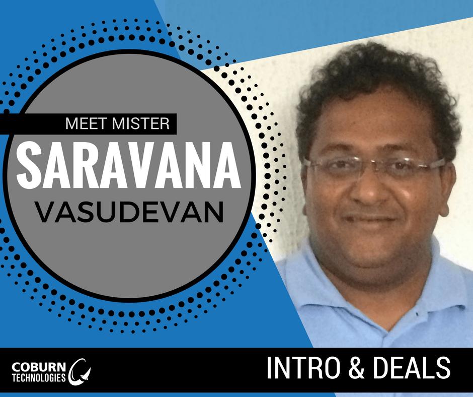 Saravana Vasudevan | Coburn Technologies Sales Rep