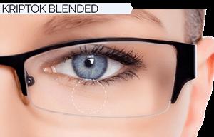 Novar Bifocal Lens Design | BLENDED KRIPTOK | Coburn Technologies