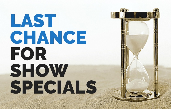 Last Chance for VEW18 Specials | Coburn Technologies