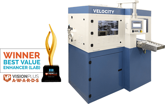 Velocity Coater 2019 Winner Best Value Enhancer for Labs