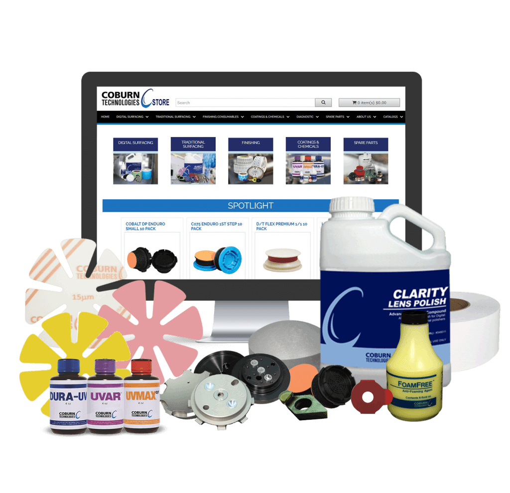 Shop Coburn Consumables and Spare Parts Website