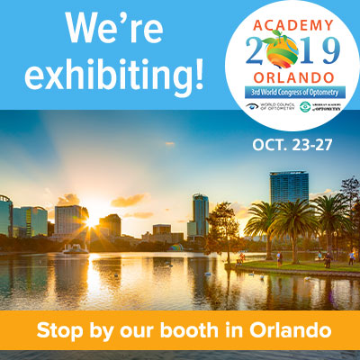 Coburn Technologies is exhibiting at the American Academy of Optometry's meeting in Orlando, Florida.