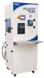 Velocity LTE Manual UV Spin Optical Lens Coater stand-alone machine for small to mid-sized labs.