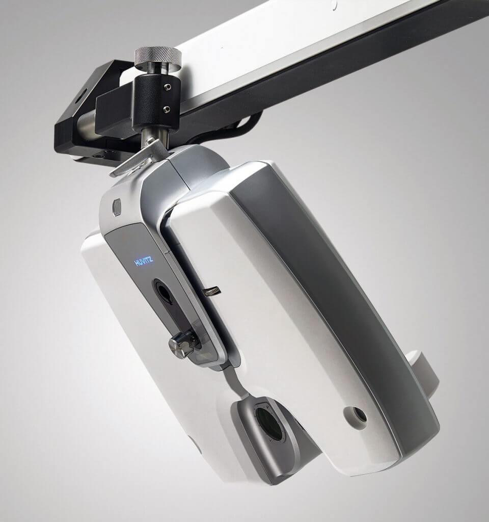Huvitz HDR-9000 Digital Refractor tiltable body.